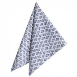 Serviette de table - Bungalow - neem blue