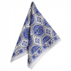 Serviette de table - Bungalow - kamal blue