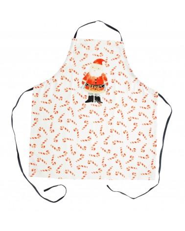 Tablier en coton - Rice - Santa print