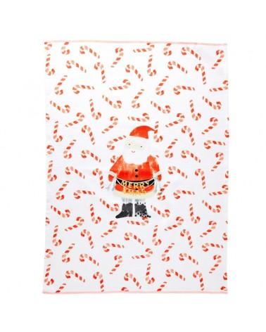 Torchon - Rice - Santa print