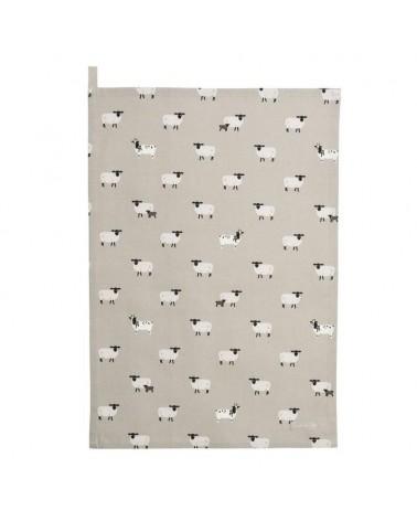 Torchon - Sophie Allport - moutons