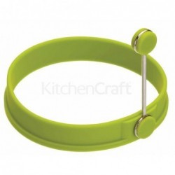 Moule à oeuf silicone - Kitchen Craft - vert