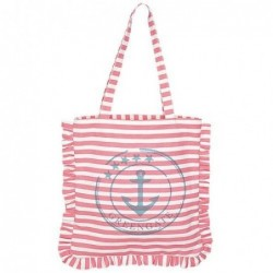 Canvas Tote bag - Greengate - Ditte pink