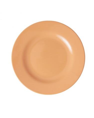 Assiette à dessert - Mélamine - Rice - Soft Abricot