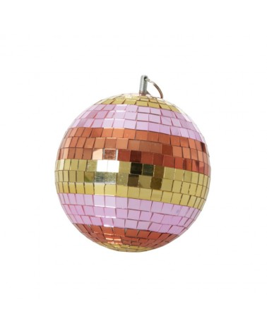 Boule à facettes - Disco Ball - Rice - Stripes and gold