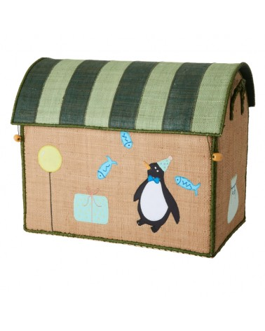 Maison Range jouets - Rice - Party animals - Moyen Modèle