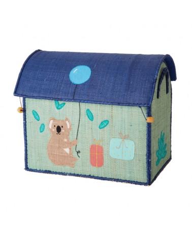 Maison Range jouets - Rice - Cœur - Petit Modèle