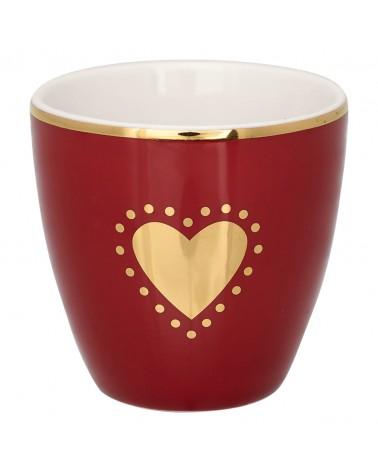 Mini Latte Cup - Greengate - Penny bordeaux