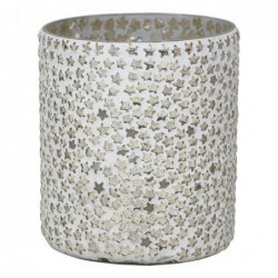 Verre Photophore - Greengate - Tealight star cement small