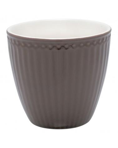 Latte cup - Greengate - Alice dark chocolate
