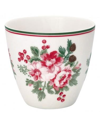 Latte cup - Greengate - Charline white