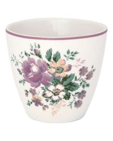 Latte cup - Greengate - Marie dusty rose
