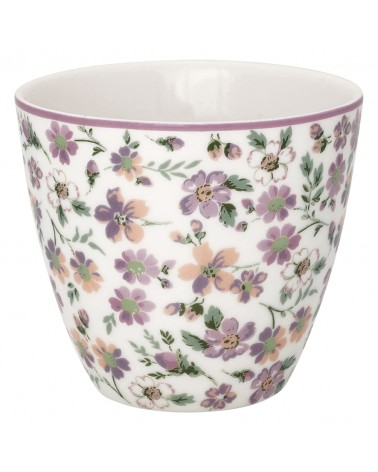 Latte cup - Greengate - Marie petit dusty rose