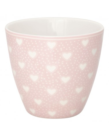 Latte cup - Greengate - Penny pale pink