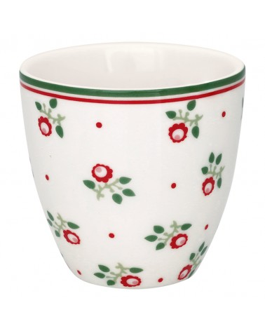 Mini Latte Cup - Greengate - Abi petit white