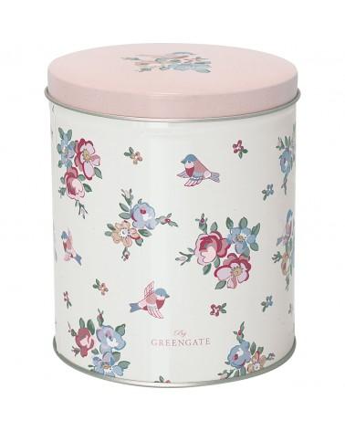 Boîte à thé - Greengate - Ava white - Petite
