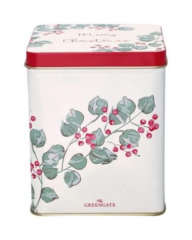 Boîte à thé - Greengate - Charline white - Petite