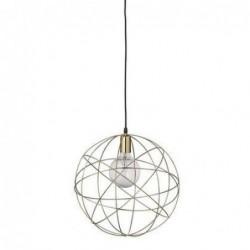 Lampe suspension Atome - Bloomingville - Laiton
