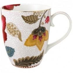 Mug Fantasy Bloom blanc - Pip Studio - grand