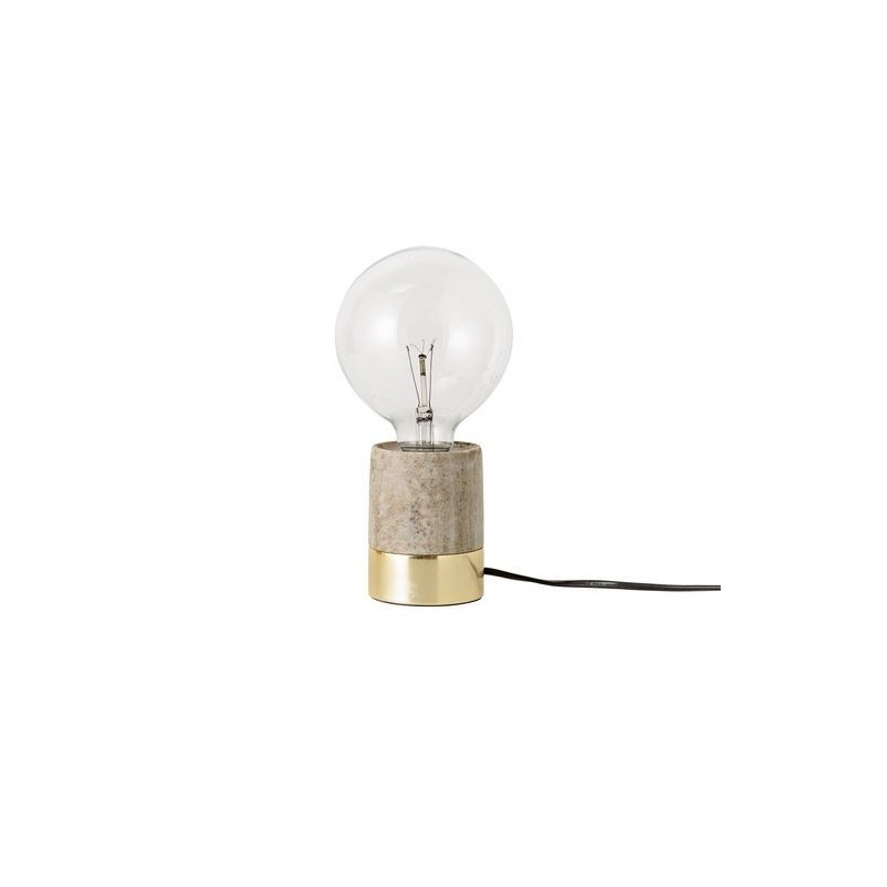 Lampe d'ambiance - Bloomingville - Pied marbre or