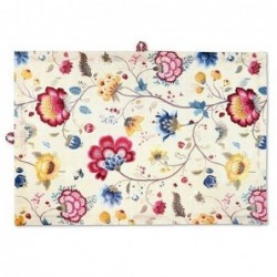 Torchon - floral fantasy blooming tails blanc - Pip Studio