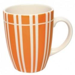 Mug Lina orange - Déjeuner sur l'herbe - 30 cl