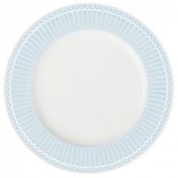 Grande assiette - Greengate - Alice bleue
