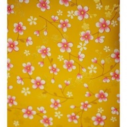 Papier peint Pip Studio Cherry Blossom - Moutarde - ref 313020