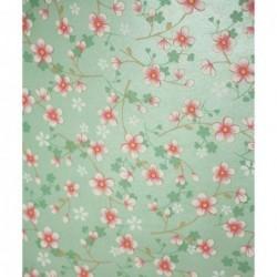 Papier peint Pip Studio Cherry Blossom - Menthe - ref 313024