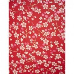 Papier peint Pip Studio Cherry Blossom - Rouge - ref 313027