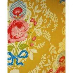 Papier peint Pip Studio Shabbychic - Moutarde - ref 313000