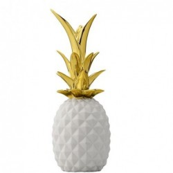 Deco Ananas - Bloomingville - gold and white