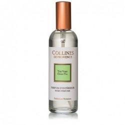 Parfum d'intérieur en spray - Thé Vert - Collines de Provence - 100ml
