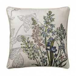 Coussin - Bloomingville - Flowers on cream 45x45