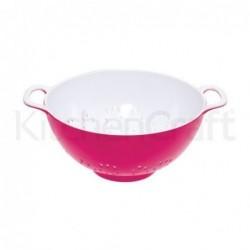 Passoire en mélamine - Kitchen Craft - Rose - 24cm - L
