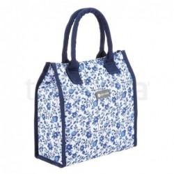 Sac isotherme - Fleur bleue - Kitchen Craft