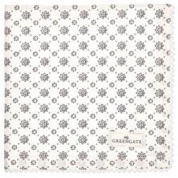 Serviette de table - Greengate - dentelle Laurie white