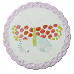 Dessous de plat - Rice - Papillon pois