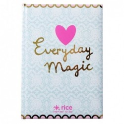 Carnet A5 couverture rigide - Rice - Everyday magic