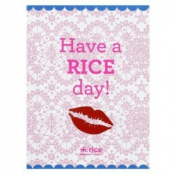 Petit Carnet - Rice - Have a rice day
