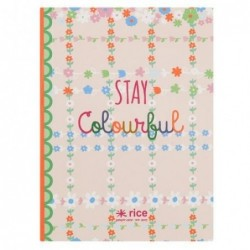 Petit Carnet - Rice - Stay colorful