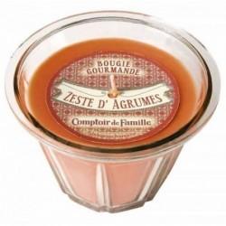 Bougie parfumée - Zeste d'agrumes  - Comptoir de Famille