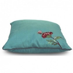 Coussin Floral matelasse - 40 x 40cm - Pip Studio - Vert
