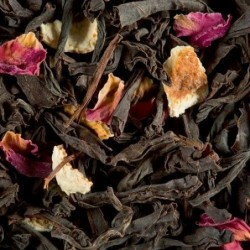 Thé noir parfumé - Dammann Freres - Citron-Caviar-Rose - 100g