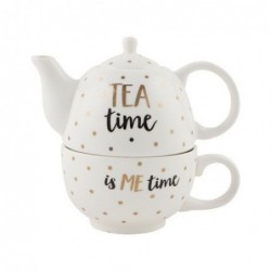 Théière et tasse - Tea Time - Sass & Belle