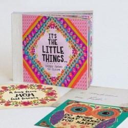 Carnet à messages détachables - Enjoy the little things