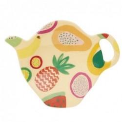 Coupelle à sachet de thé - Mélamine Rice -Tutti frutti