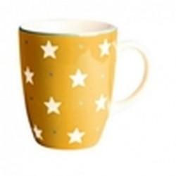 Mug étoiles curry - Déjeuner sur l'herbe - 30 cl