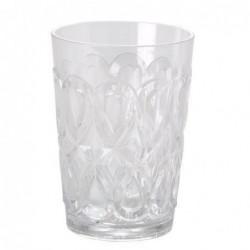 Verre à eau - Rice - Acrylique - Transparent
