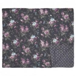 Couverture en coton - 140x220 - Maude dark grey - Greengate